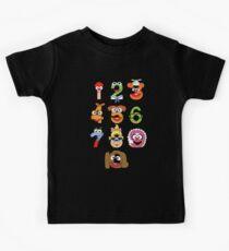 Muppet Babies Numbers Kids Tee