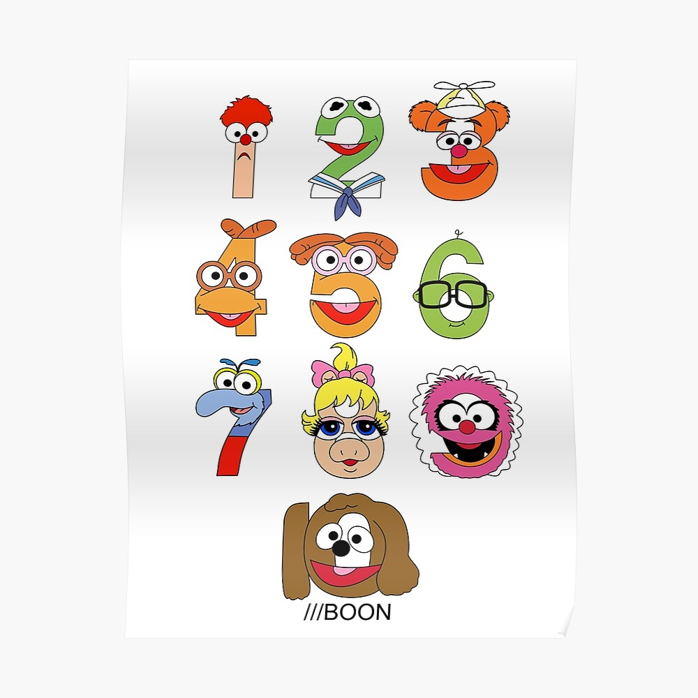 """7/"""" Muppets baby babies rowlf wall safe sticker border cut out character"""