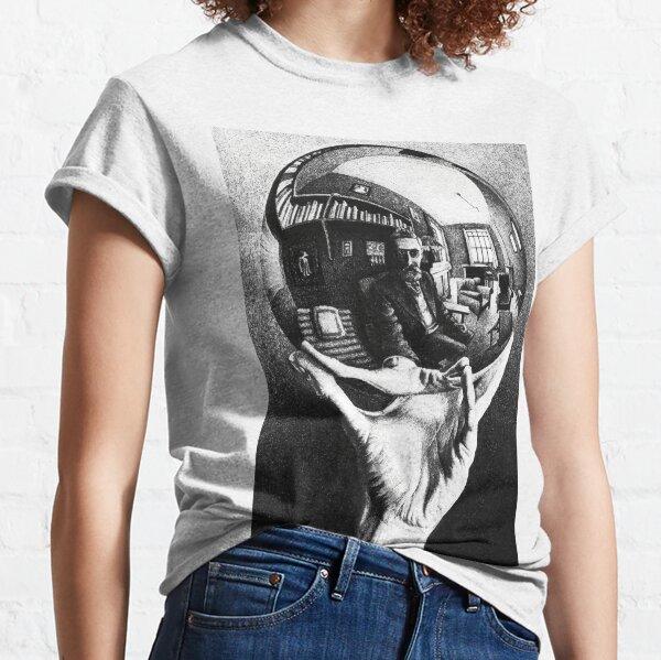 M.C. Escher selfie Classic T-Shirt