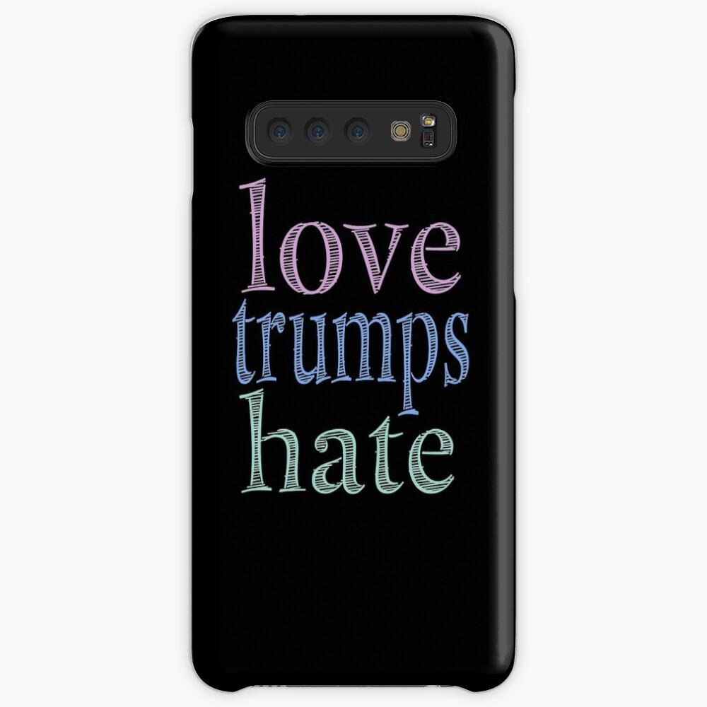 Love Trumps Hate Pretty Pastel Case & Skin for Samsung Galaxy