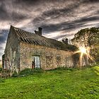 Old Cottage - Curragh Co Kildare by Gerry Chaney