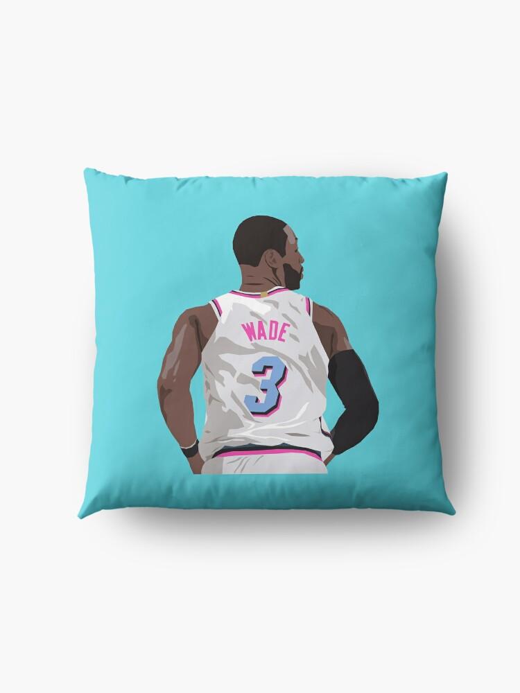 Alternate view of Dwyane Wade Back-To Floor Pillow