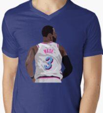 Dwyane Wade Back-To V-Neck T-Shirt