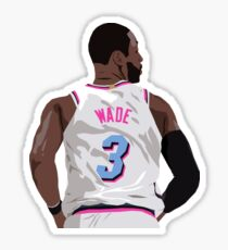 Dwyane Wade Back-To Sticker