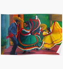 Baile Folklorico Poster