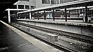 Just A Flurry - South Station - Boston  by Jack McCabe