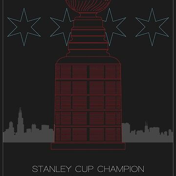 Stanley Cup Champion Blackhawks by scbb11Sketch