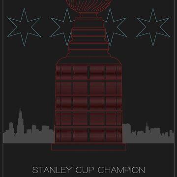 Stanley Cup Champion Blackhawks by scbb11Sketch