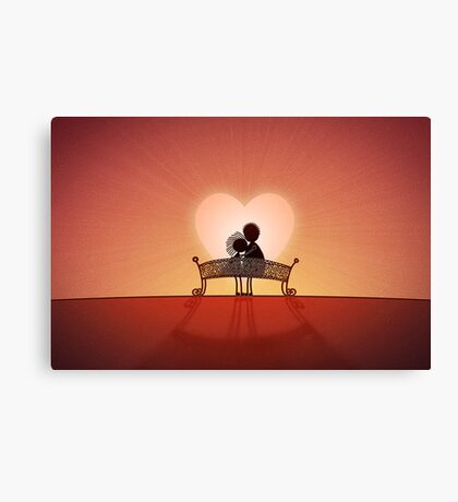 When You Are In Love Canvas Print