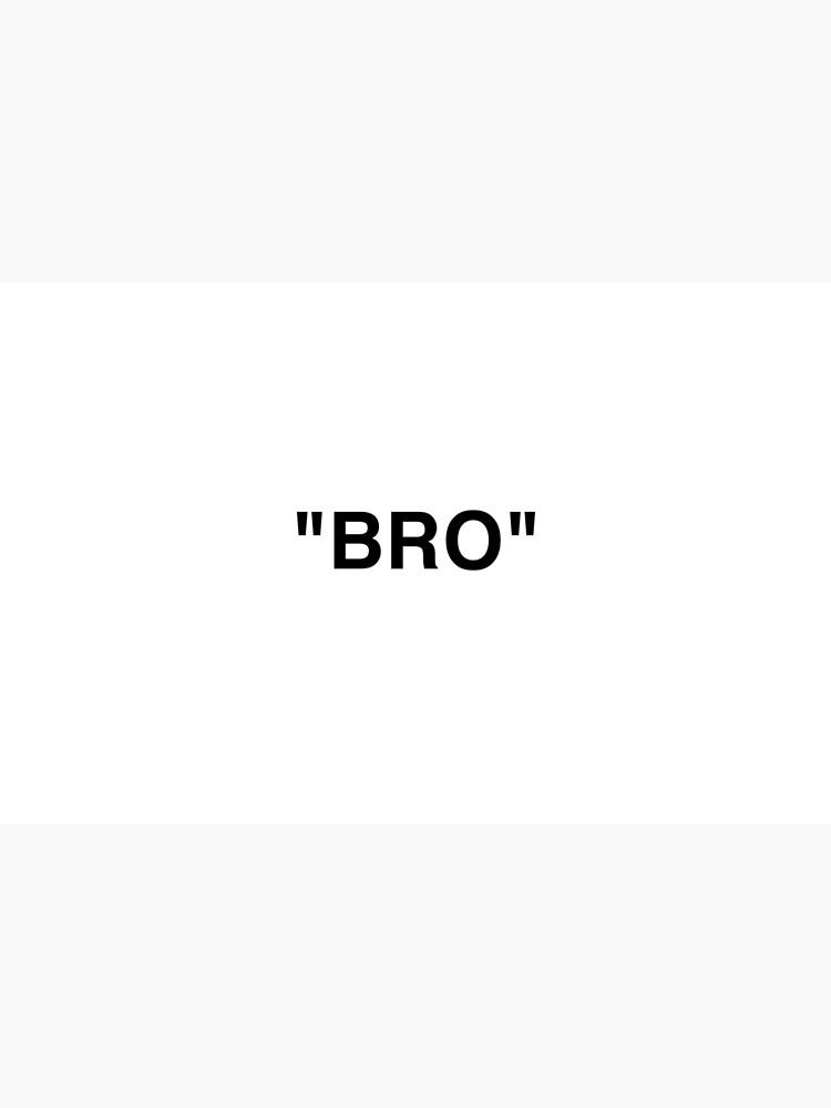 OFF WHITE Inspired Bro by sanseffort