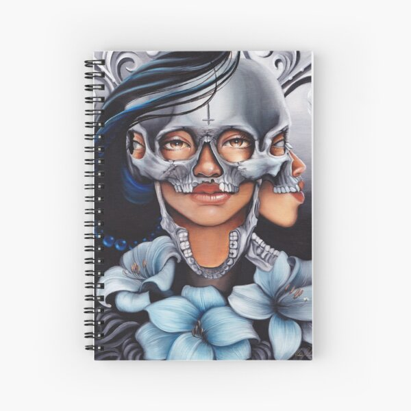 Self Sacrifice Spiral Notebook