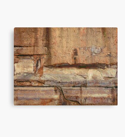 Cubist Stone photo painting Canvas Print