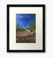 Abbey, St Savin Framed Print