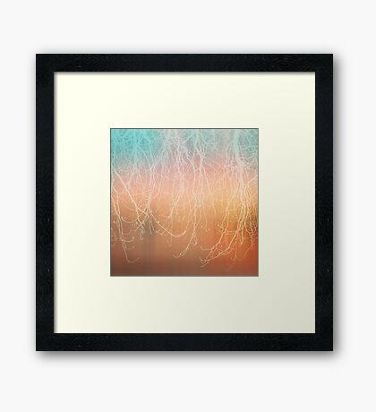 autumn texture I Framed Print