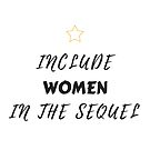 Hamilton - Include Women In The Sequel  by Jake Macpherson