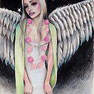 Angel Original Art Illustration Kim Turner Art by KimTurner