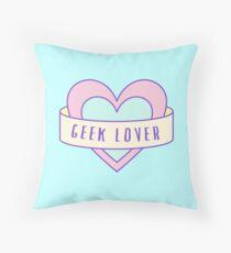 Geek Lover Throw Pillow