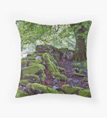 Scotish Green Throw Pillow