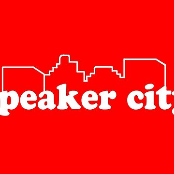 Speaker City - Old School Movie Quote by everything-shop