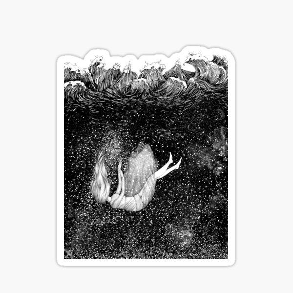 The Stars Beneath the Waves Sticker