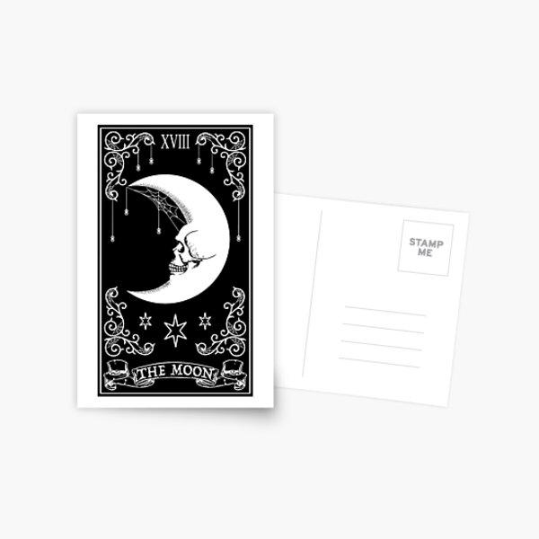 The Moon Tarot Card Postcard