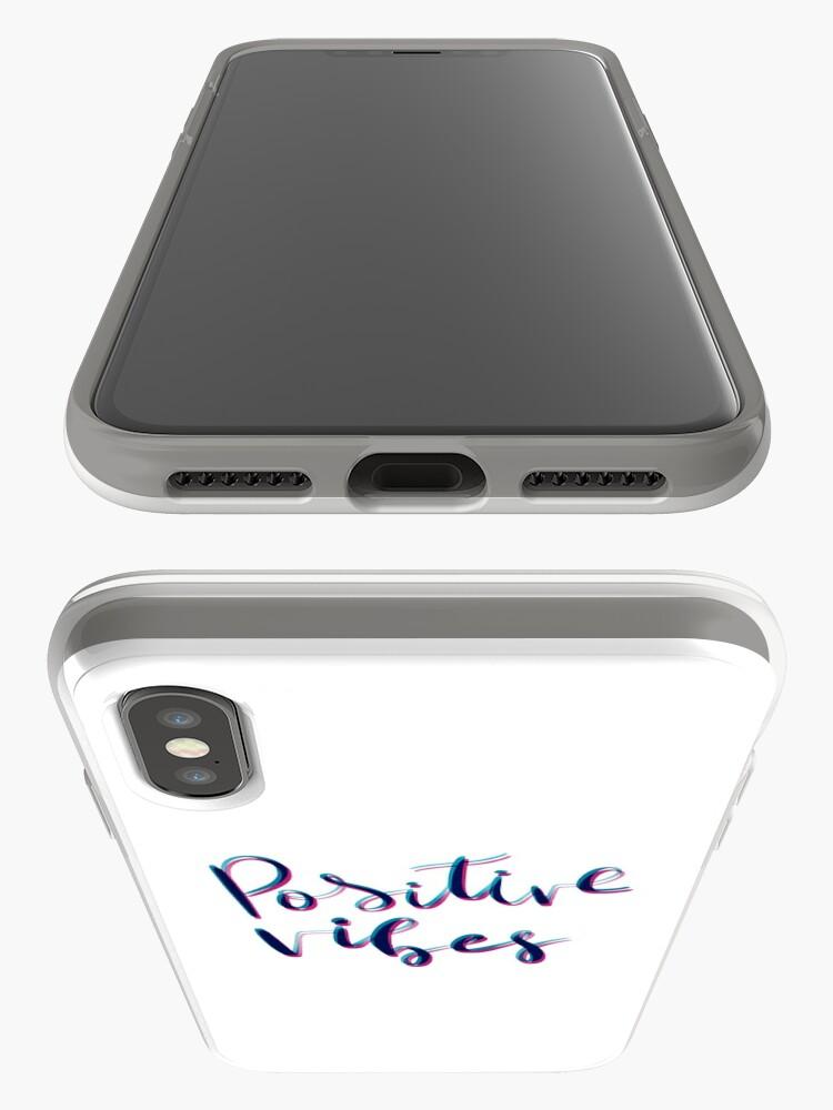 Vista alternativa de Funda y vinilo para iPhone Vibras positivas