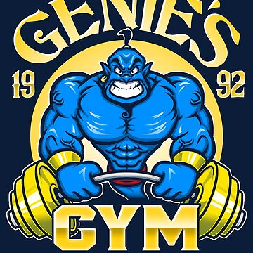 Genie's Gym by Punksthetic
