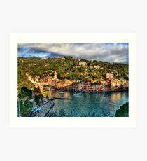Portofino Paint  two Art Print
