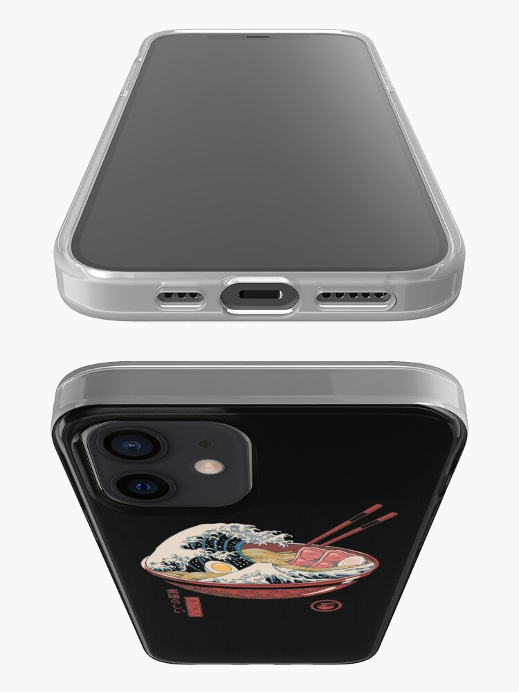 Alternate view of Great Ramen Wave iPhone Case & Cover