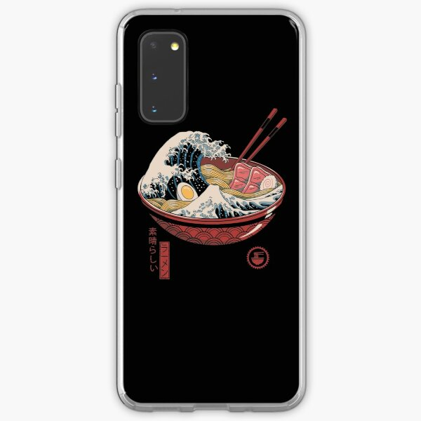 Great Ramen Wave Samsung Galaxy Soft Case