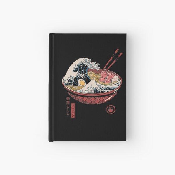 Great Ramen Wave Hardcover Journal