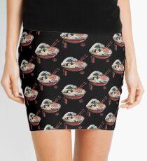 Great Ramen Wave Mini Skirt