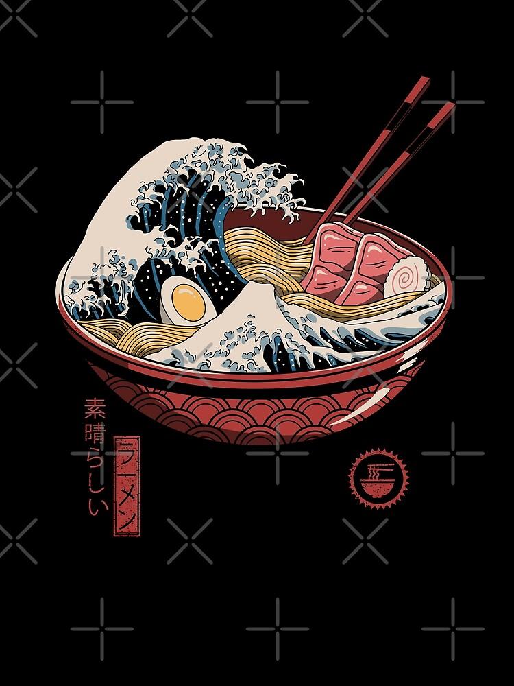 Great Ramen Wave by vincenttrinidad