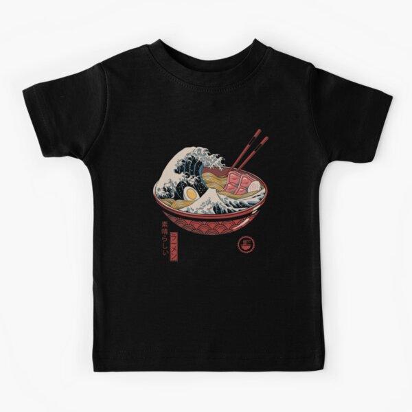 Gran ramen de onda Camiseta para niños