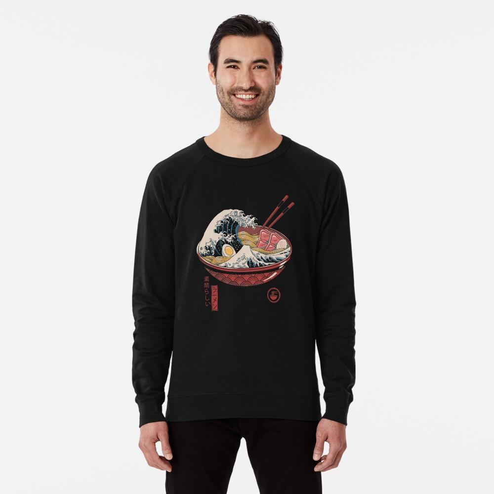 Great Ramen Wave Lightweight Sweatshirt
