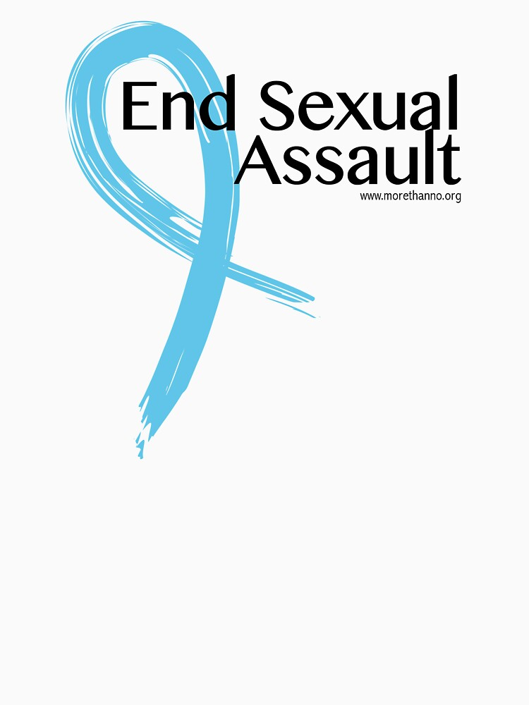 End Sexual Assault Ribbon by morethanno