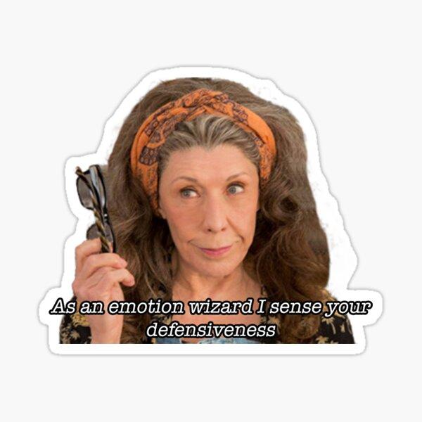As an emotion wizard I sense your defensiveness Sticker