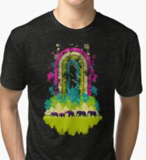 Retro Jungle Tri-blend T-Shirt