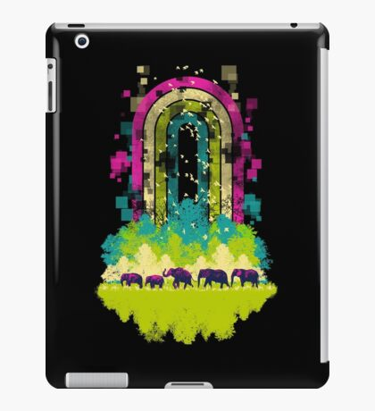 Retro Jungle iPad Case/Skin