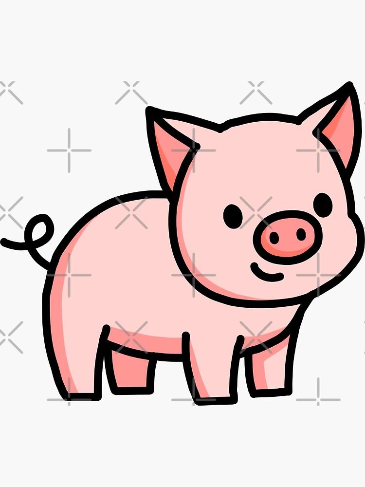 Pig by littlemandyart