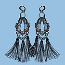 Gypsy Earrings by Emilie Otto