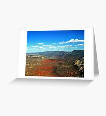 Dinosaur National Monument Colorado/Utah Greeting Card
