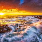 Smith's Beach Sunset by Paul Pichugin