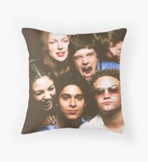 That '70s Show Cast Throw Pillow