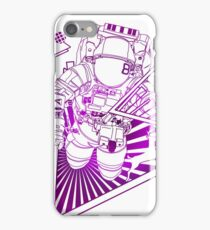 Spaceman lost in deep Cosmos iPhone Case/Skin