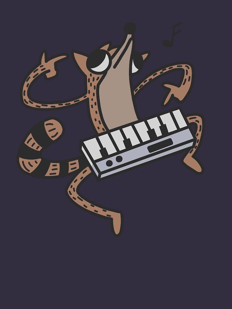 Keyboard Rigby  by Animus-Art