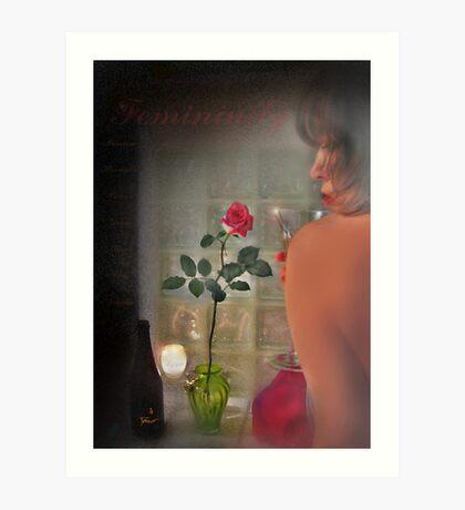 femininity Art Print