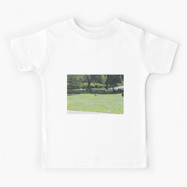 #Landscape, #people, #environment, #grass, #adult, #tree, #lawn, #outdoors Kids T-Shirt