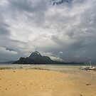 Elnido, Palawan, Philippines - Boat In The Storm by Bobby McLeod
