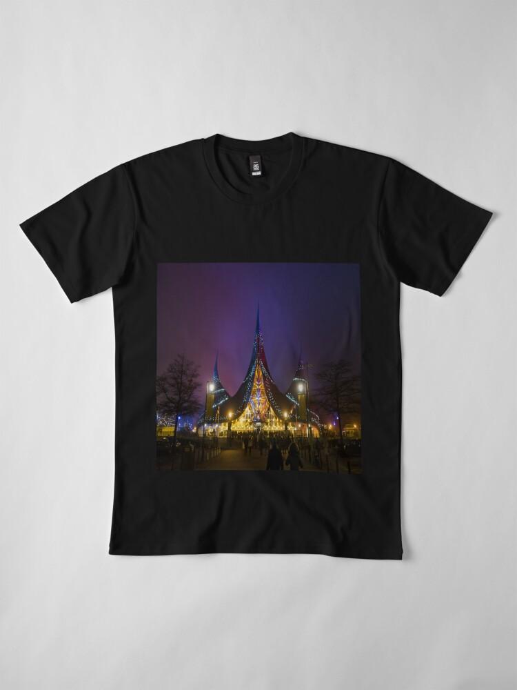 Alternate view of Huis van de Vijf Zintuigen Premium T-Shirt